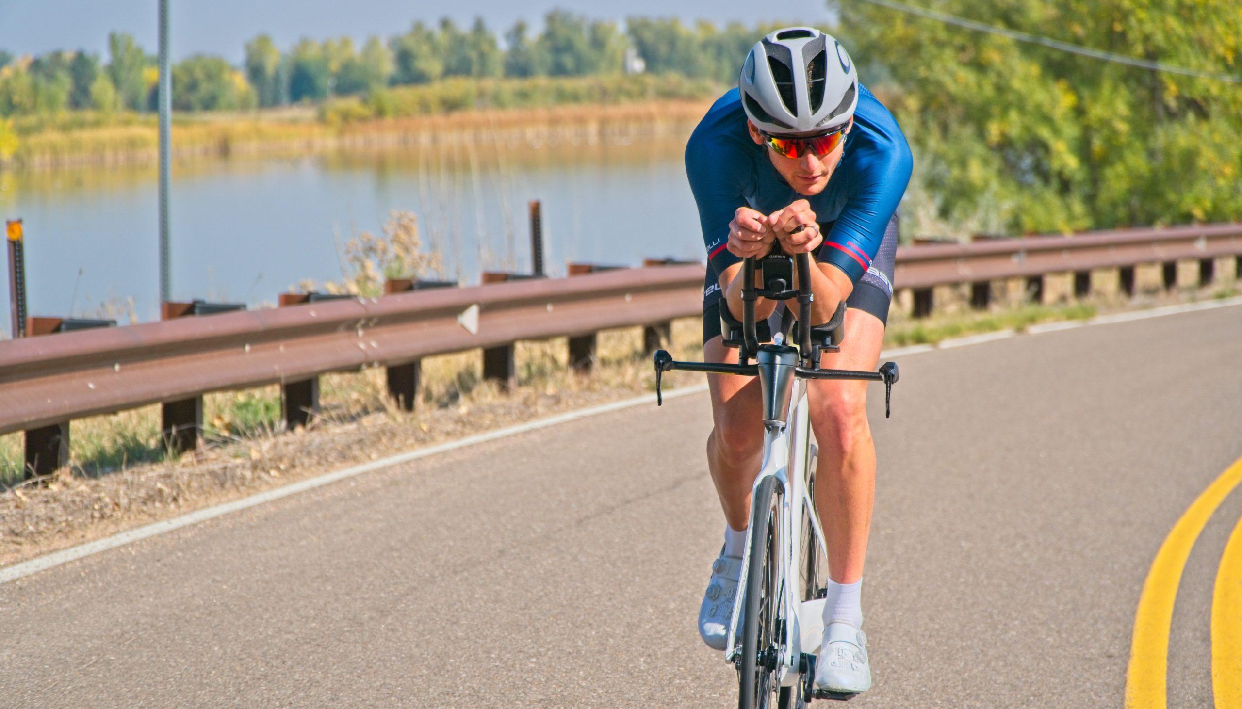 Triathlon Bike Aero Position